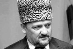 Ахмат-Хаджи Кадыров. В Чечне отдают дань памяти у могилы Ахмата-Хаджи Кадырова в Центорое