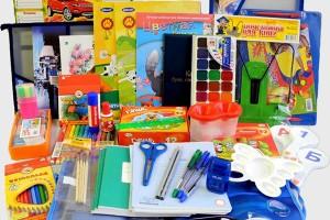 Школьные принадлежности. В Москве стартует акция «Семья помогает семье: готовимся к школе!»