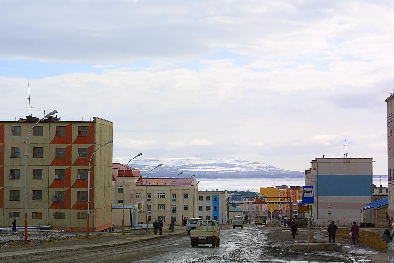 Фото Анадырь 2015 Чукотский Автономный Округ Флаг