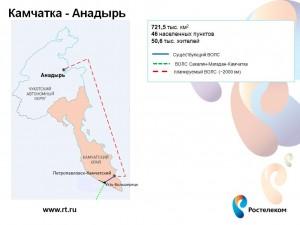 ПВОЛС Камчатка-Анадырь