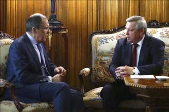 Сергей Лавров и Василий Голубев