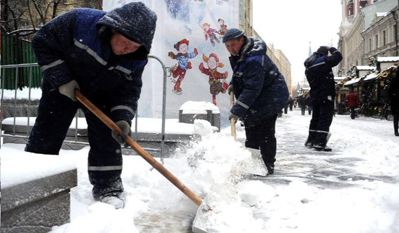 Отвал на буханку для уборки снега