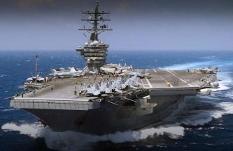 Пентагон скрывает подробности ЧП на авианосце.
