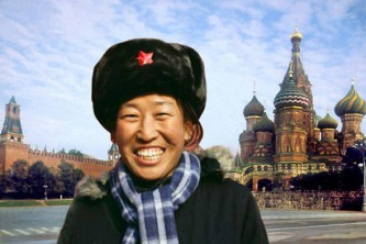 Китайские туристы с удовольствием посещают Россию.
