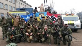 """Украинские нацисты батальона """"Азов"""""""