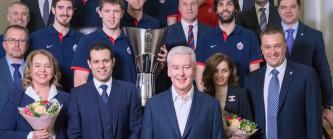 Собянин поздравил ЦСКА с победой