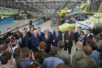 Правительство РФ посетило корпорацию Иркут