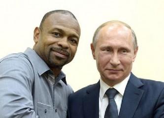 Рой Джонс получил российское гражданство лично от Владимира Путина