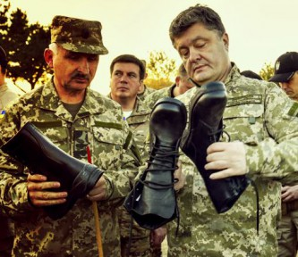 Порошенко обувает армию
