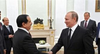Владимир Путин и король Бахрейна