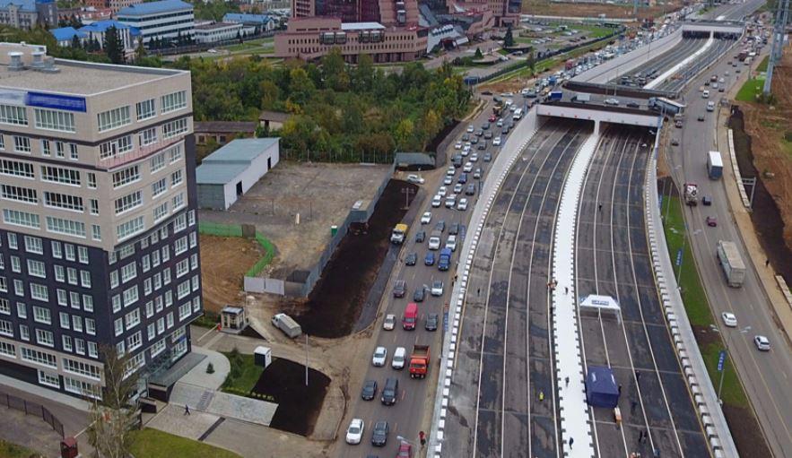 Калужское шоссе реконструкция 2016 схема фото 866