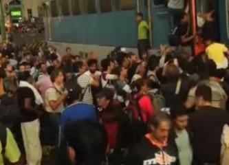 Мигранты движутся в Европу