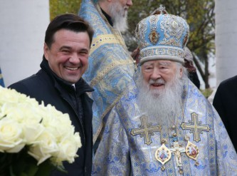 Воробьев посетил Богородице-Смоленский Новодевичий монастырь