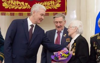 Собянин вручил награды ветеранам