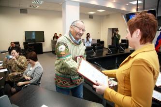 Александр Омрыпкир и Анжелика Медведева