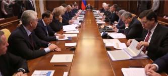Заседание Президиума Совета по приоритетным проектам