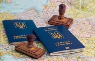 Украинский паспорт без визы в ЕС