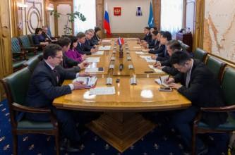 Китайская делегация посетила Сахалин