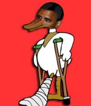 Обама - хромая утка