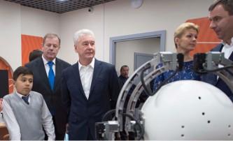 Собянин посетил детский технопарк