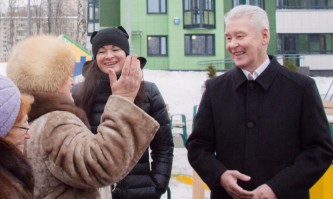 Собянин осмотрел реконструкцию Проспекта Вернадского