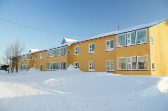 многоквартирный дом в селе Марково