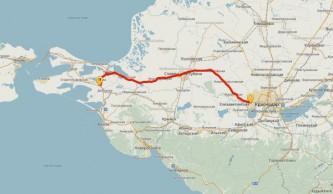 Скоростная трасса Кубань-Крым