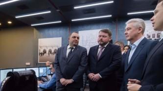 Собянин посетил центр безопасности московского метрополитена