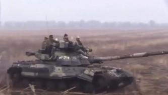 Украинский Т-80 оказался в руках ополченцев