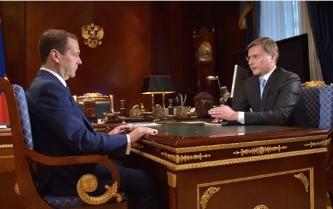 Дмитрий Медведев и Сергей Иванов