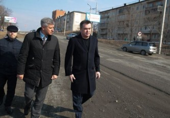 Миклушевский осмотрел трассу Владивосток-Находка