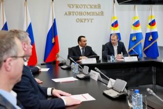 Губернатор Чукотки и Гендиректор «РАО ЭС Востока» «сверили часы» по ключевым проектам развития энергетики в регионе.