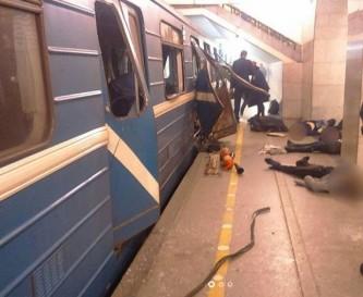 Взрыв в перетрбургском метро