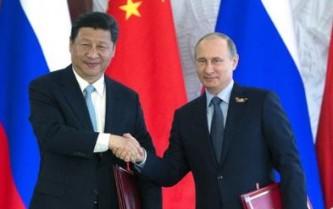 Владимир Путин и Си Цзыньпин