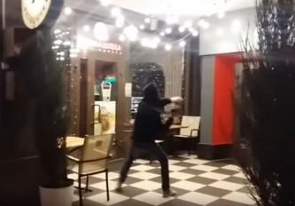 Погромы российских ресторанов
