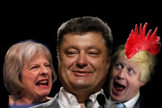 Украино-британская дружба против России