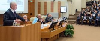 Собянин на заседании Совета Госдумы