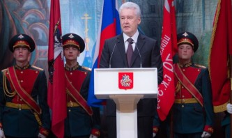 Собянин поздравил ветеранов Москвы