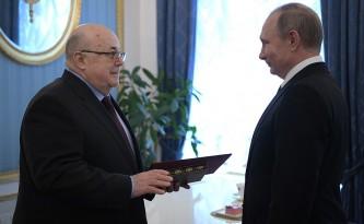 Владимир Путин и Александр Калягин