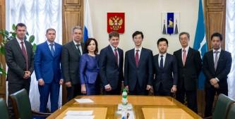 Олег Кожемяко встретился с японской делегацией