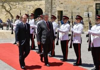 Петр Порошенко посетил Мальту