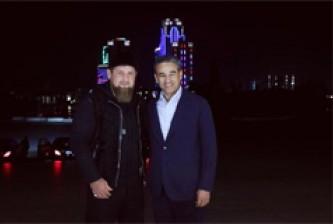 Рамзан Кадыров с главой инвестиционного фонда ОАЭ