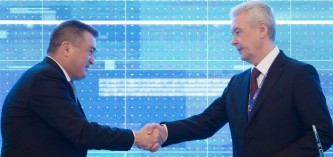 Владимир Миклушевский и Сергей Собянин