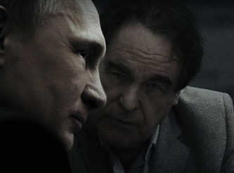 Владимир Путин и Оливер Стоун