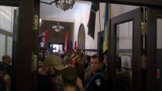 Захват киевского горсовета
