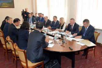 Корейская делегация в Хабаровске