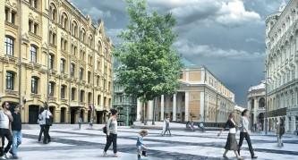Москва, Биржевая площадь