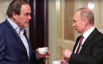 Оливер Стоун и Владимир Путин