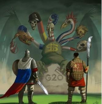 Россия и Китай против НАТО
