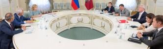 Собянин встретился с депутатами Госдумы